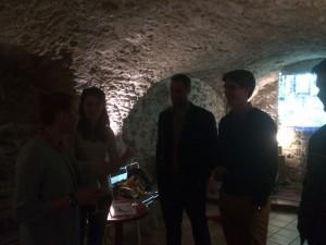 1+1 dans une cave d'un bar de la rue Trivalle