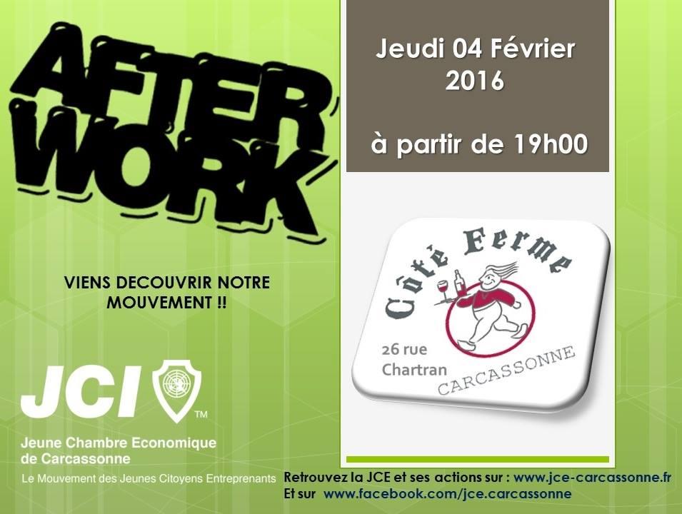 Afterwork 4 f vrier 2016 jce carcassonne - Chambre de commerce carcassonne ...