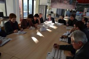 G. Patebex et les membres du Jury