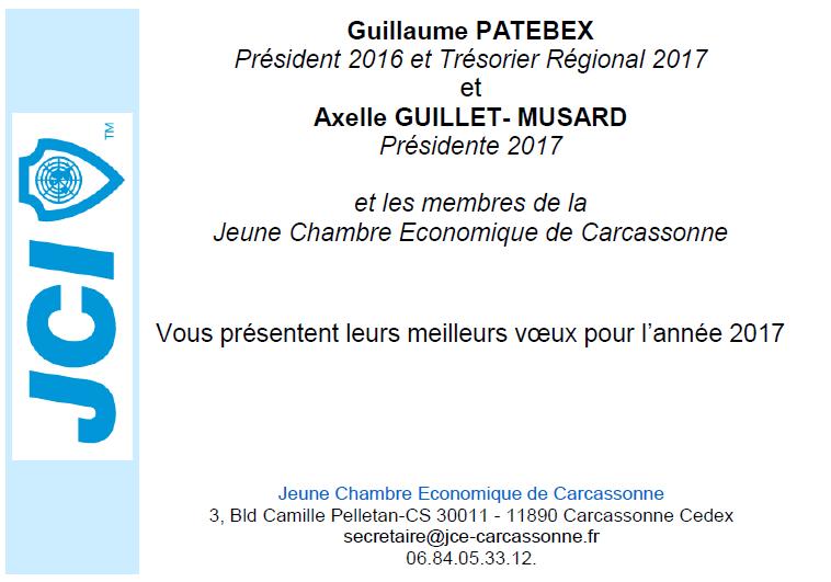 V ux et passation 2017 jce carcassonne - Chambre de commerce carcassonne ...